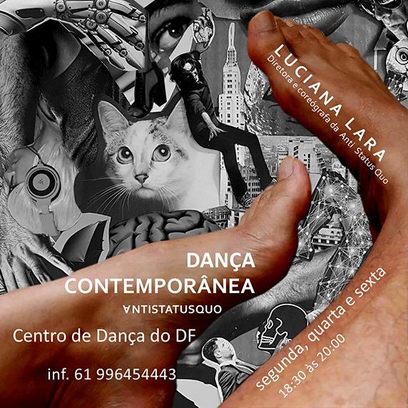Aulas de dança contemporânea com Luciana Lara