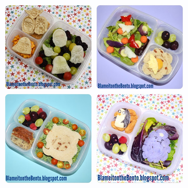 Easylunchbox lunches