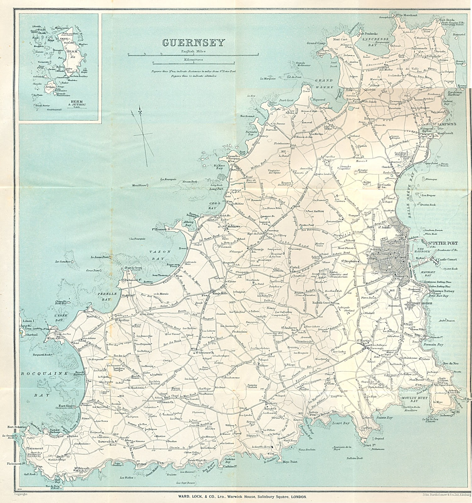 Guernsey United Kingdom  City pictures : MAPS OF GUERNSEY UNITED KINGDOM FIJI PRESS™ Matanitu Tu Vaka i ...