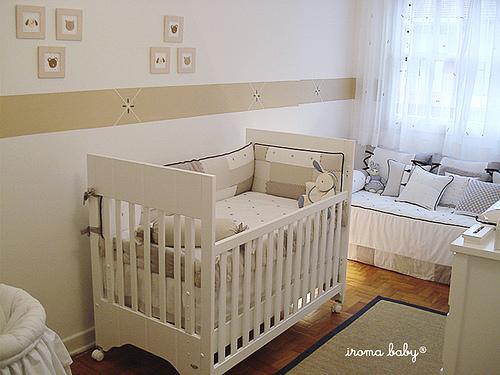 Quartos de bebês ~ Quarto Verde E Marrom Bebe