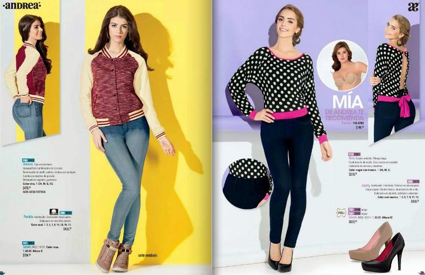 Catalogo digital ropa Andrea 2015 jeans temporada primavera