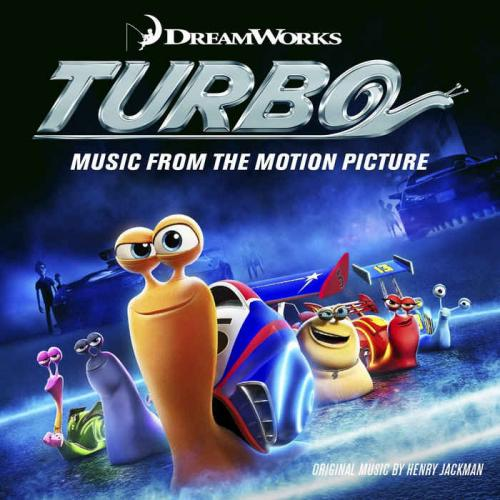 Capa Turbo: Music From The Motion Picture – 2013 capa