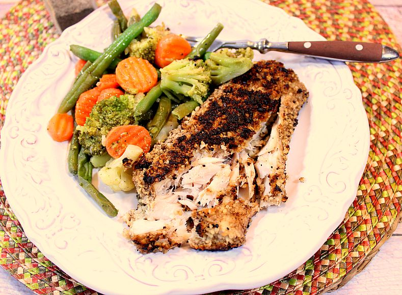 Cashew and Coconut Crusted Mahi-Mahi is the perfect balance of flavors ...