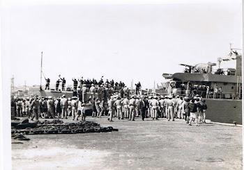 28/04/1969 A Despedida na Base Naval de Lisboa