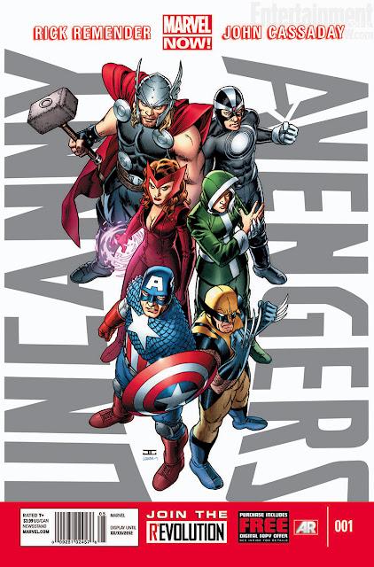 Uncanny Avengers (Marvel Now) DESCARGA GRATIS ESPAÑOL