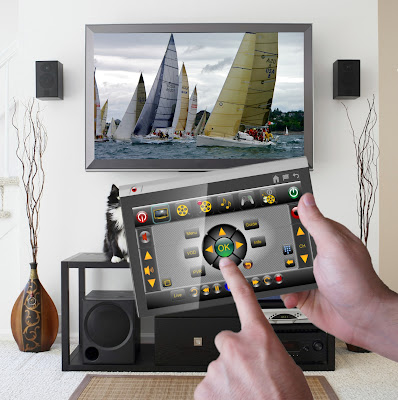 TouchSquid Universal Remote Control or Tablet Computer