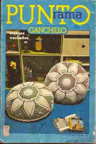 R2 Punto Rama Ganchillo - Cojines Variados