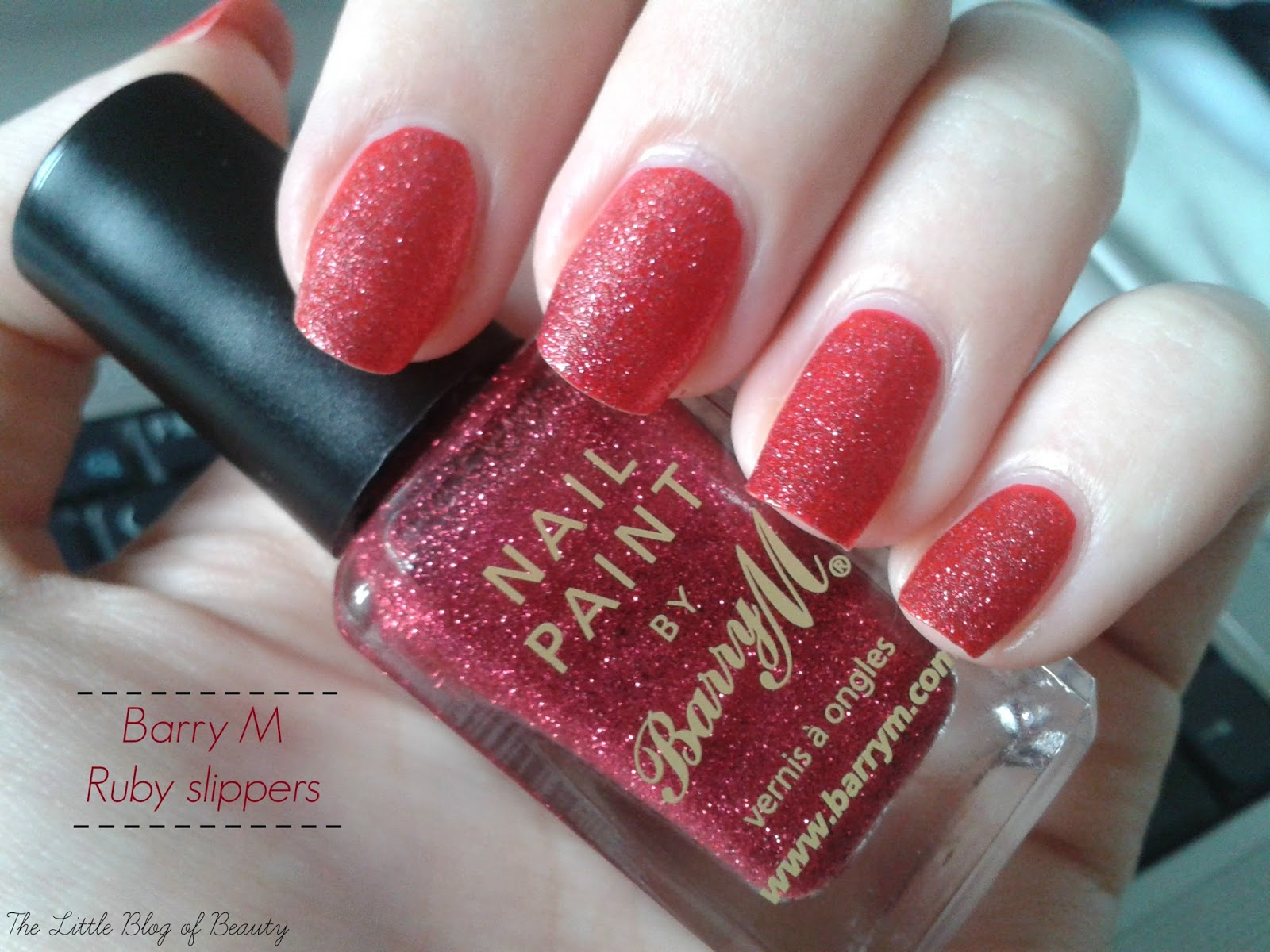 Barry M Ruby slippers (more ruby coloured than this shows!)
