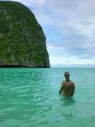 . in the Andaman Sea off the coast of Thailand, about 30 miles south east . (the beach)