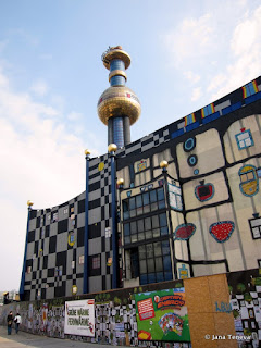 Hundertwasser Spittelau Wien