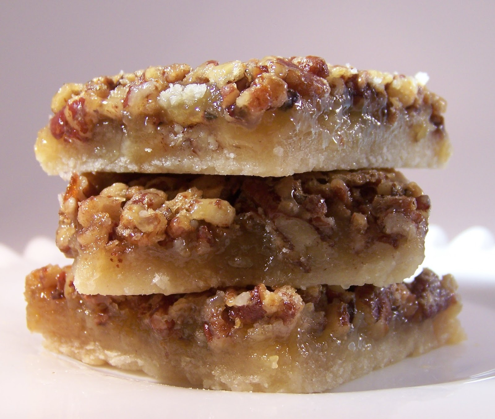 Tattered Treasures: Pecan Pie Bar Cookie Recipe and The Hunger Games!!