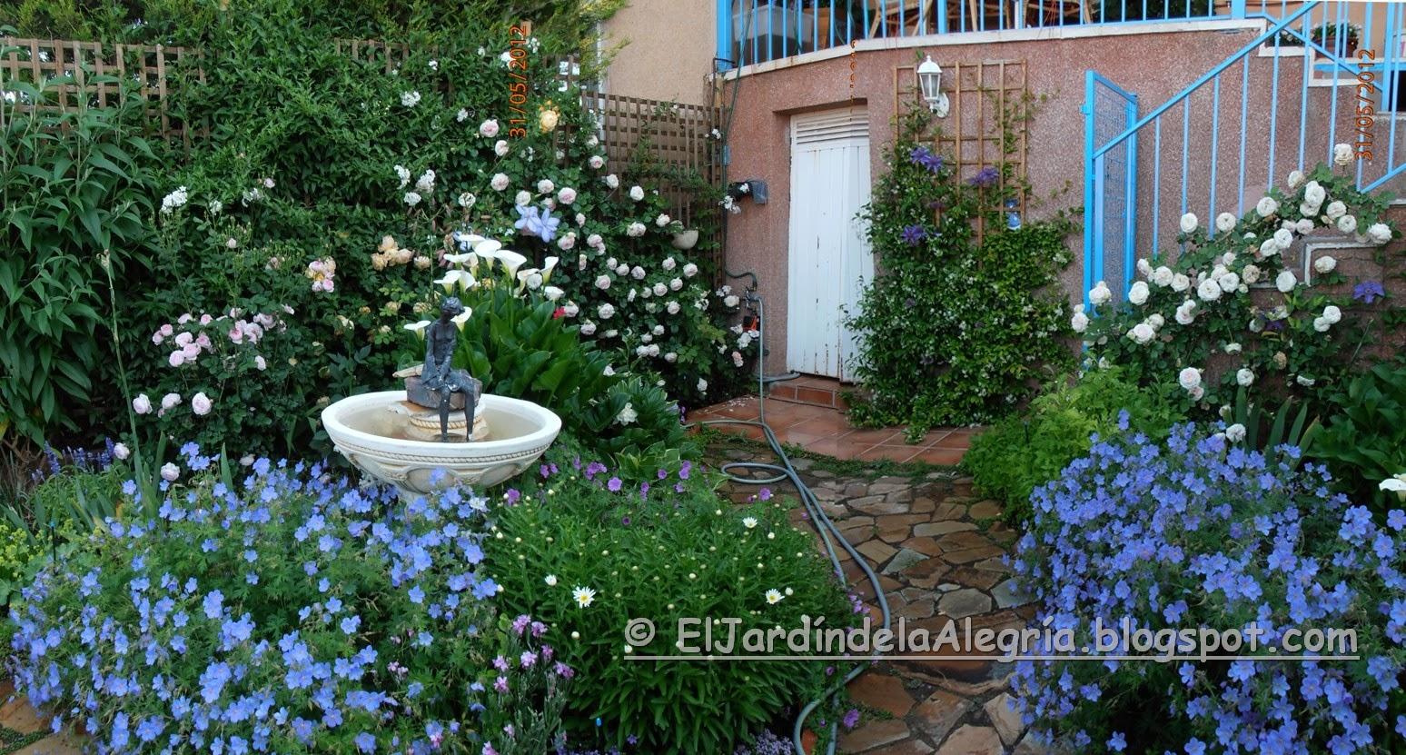 El jard n de la alegr a un peque o homenaje para un for Jardin 60 metros cuadrados