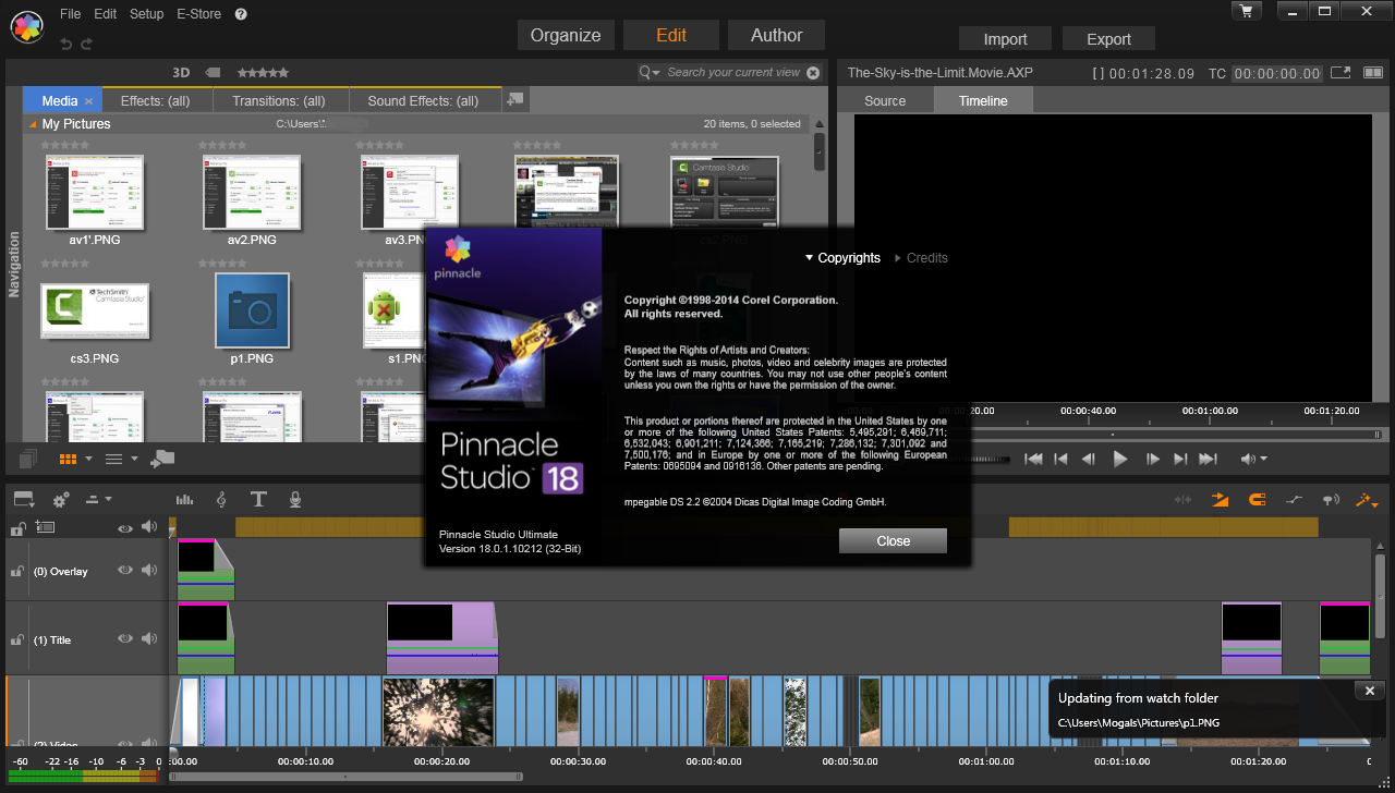 Pinnacle Studio 16 Ultimate - Crack + Tutorial - Download Link Pinnacle Stu