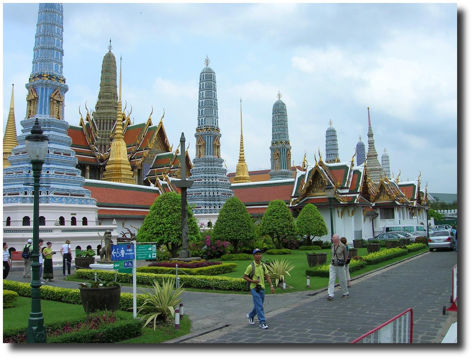 Palacio real, Bangkok, Tailandia,vuelta al mundo, round the world, La vuelta al mundo de Asun y Ricardo, mundoporlibre.com