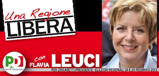 Flavia Leuci, con il Pd per costruire una Regione Libera
