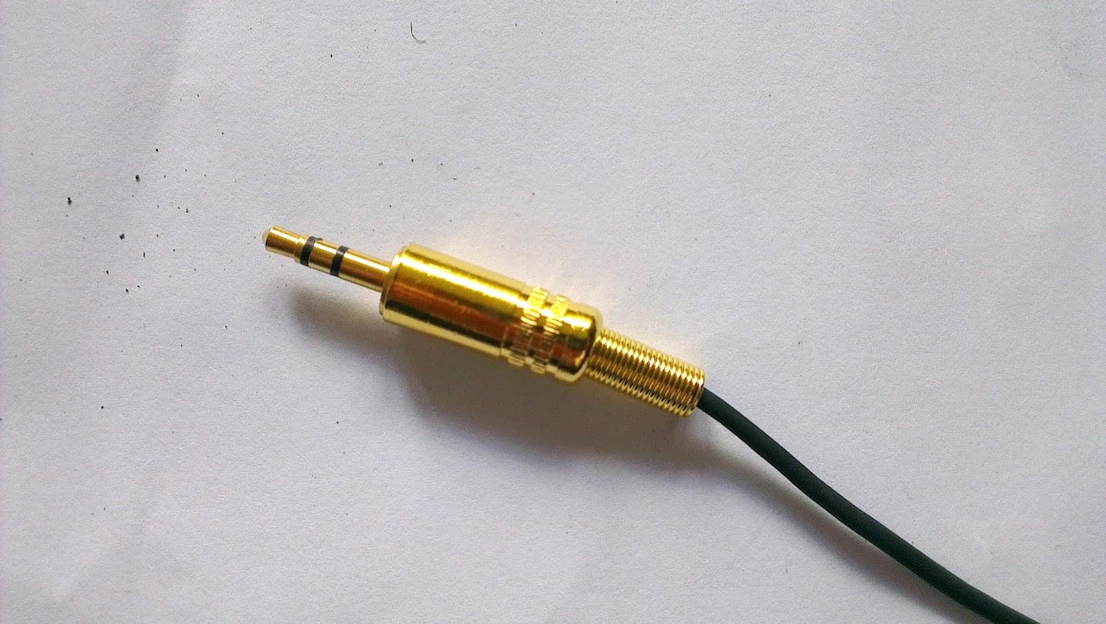 Sennheiser 3.5mm Connector Repair   Hacks, facts and rants