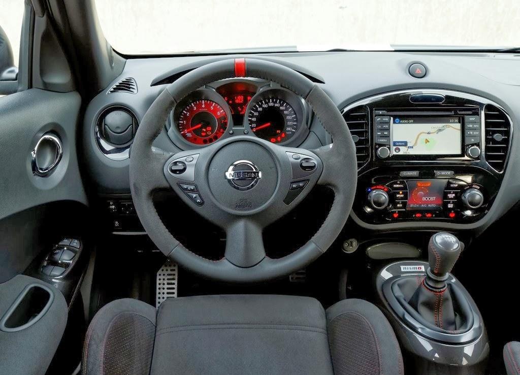 Nissan juke crossover comparativos modelos for Interieur nissan juke