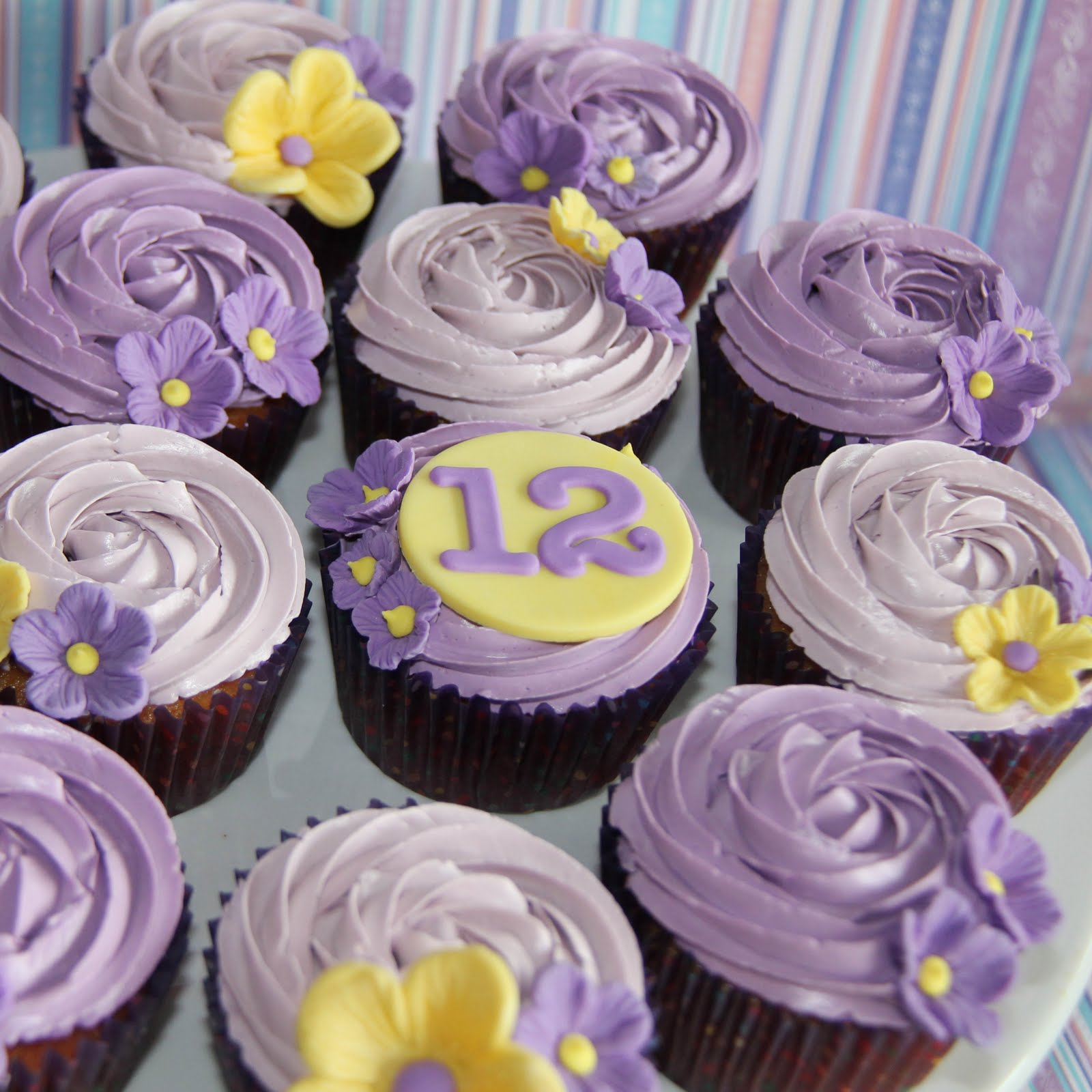Coco Jo Cake Design 12th Birthday Cupcakes