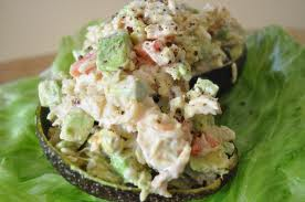 Crab Stuffed Avocado's