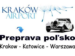 airport transfer Krakow polsko