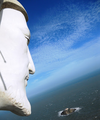 View from the Jesus statue in Vung Tau