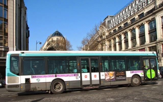 Onibus Paris Transporte