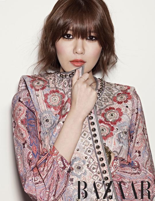 Sooyoung SNSD Harper's BAZAAR 03