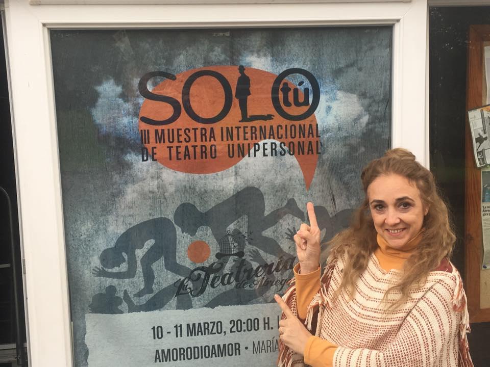 SOLO TU  Teatrería de Àbrego - Santander- ESPAÑA