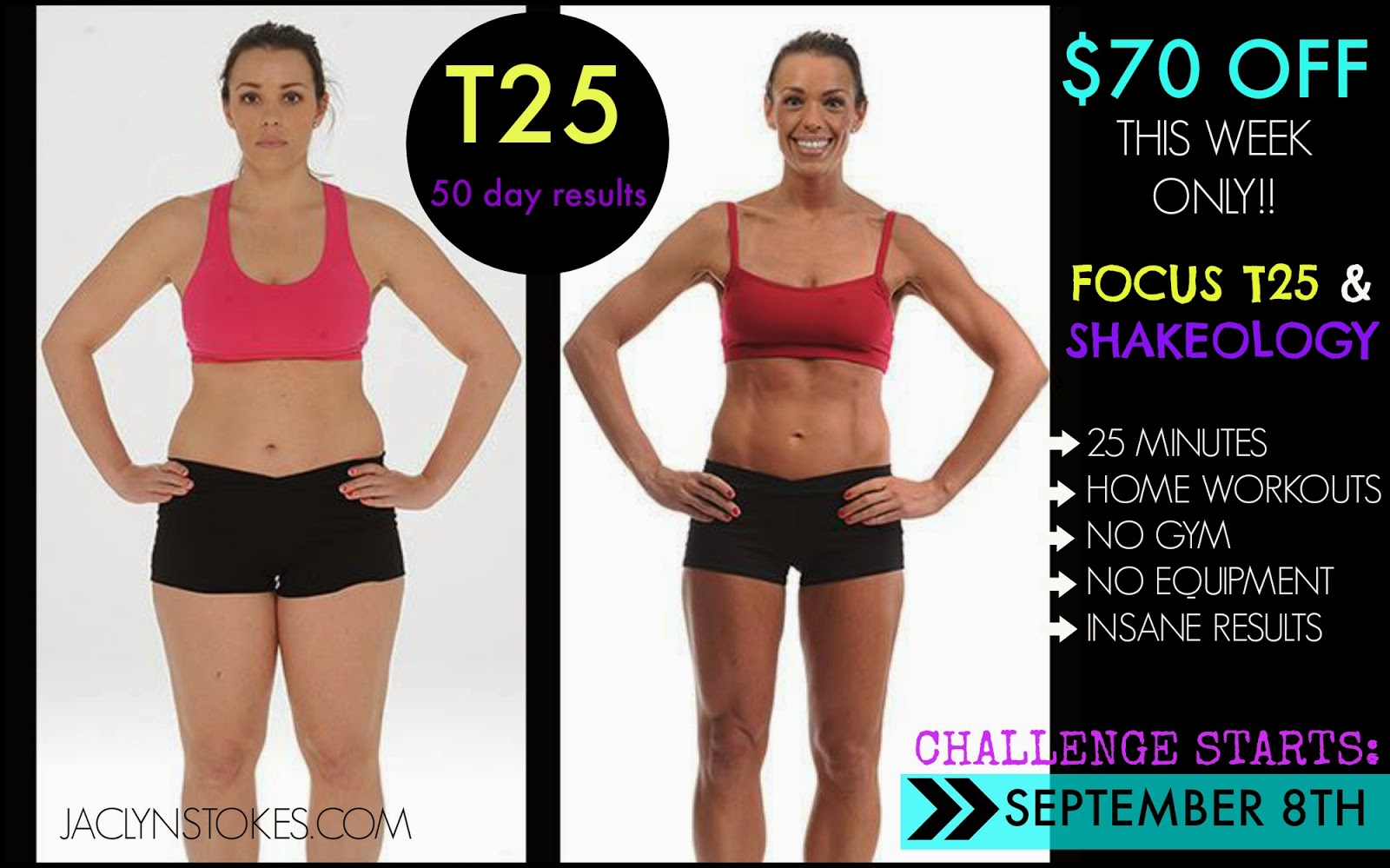Focus T25 results, T25 sale, T25 promotion, Beachbody promotion