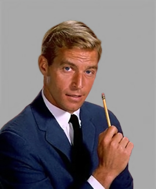 "With a dashing style all his own, James Franciscus taught ""Mr. Novak"" about life."