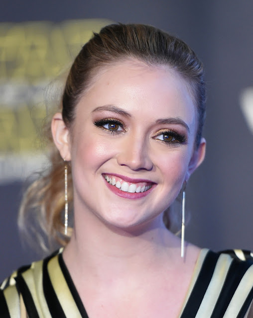 "Actress, @ Billie Lourd - premiere of ""Star Wars: The Force Awakens"" in Hollywood"