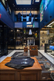 Green Pear Diaries, interiorismo, retail, Diesel, Flagship Store, Nueva York