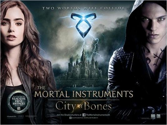 Os Instrumentos Mortais: Cidade dos Ossos (The Mortal Instruments: City of Bones) - 2013