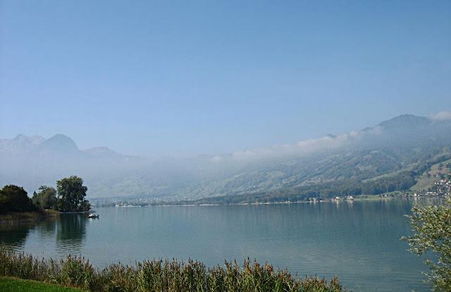 calm lake lucerne