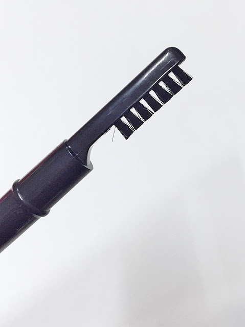 A photo of brush from Etude House Easy Brow Pencil #2