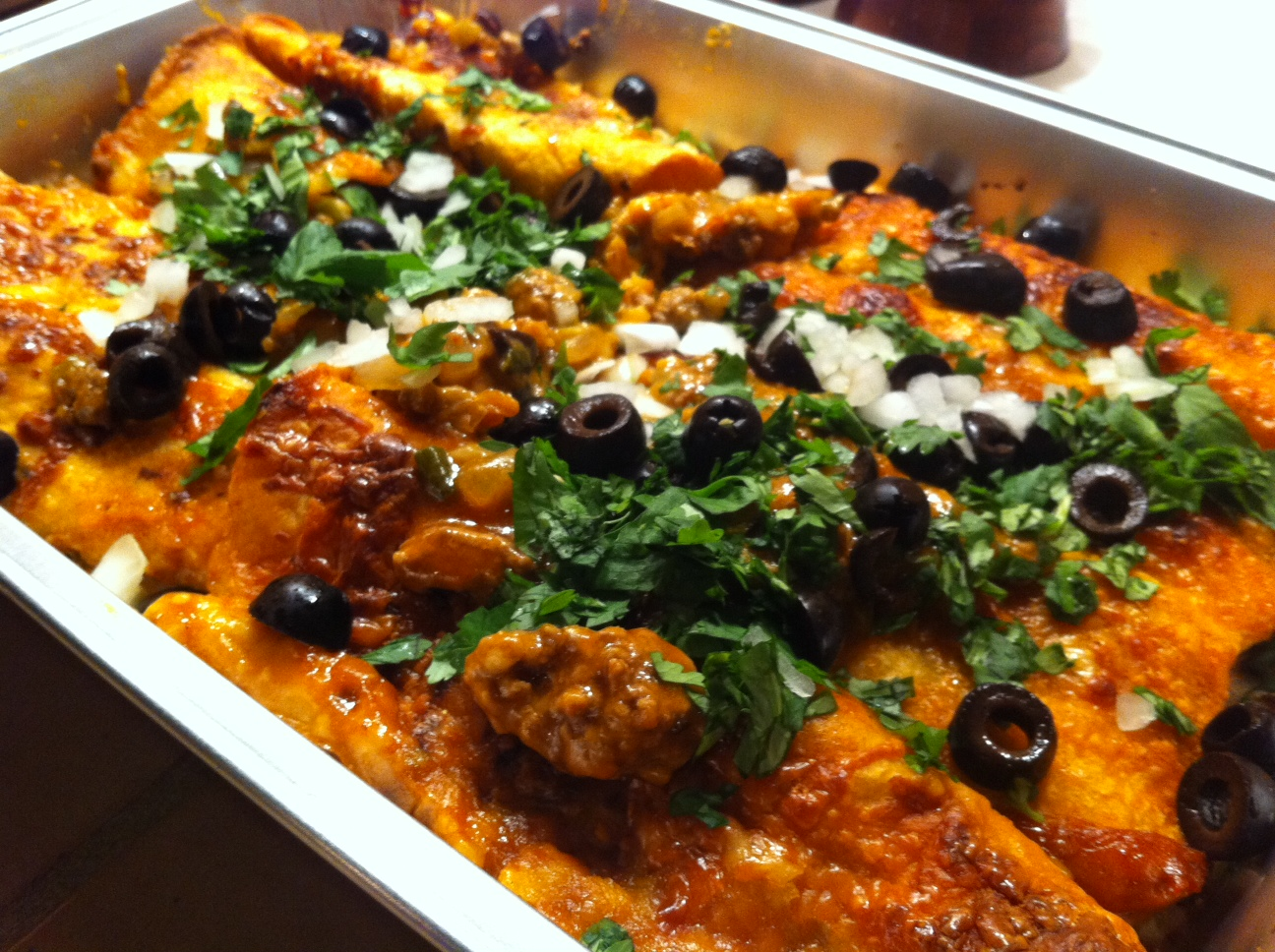... Meat and Potatoes Foodie: Pioneer Woman's Simple Perfect Enchiladas