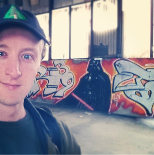 darth vador graffiti