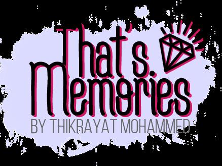 That's Memories