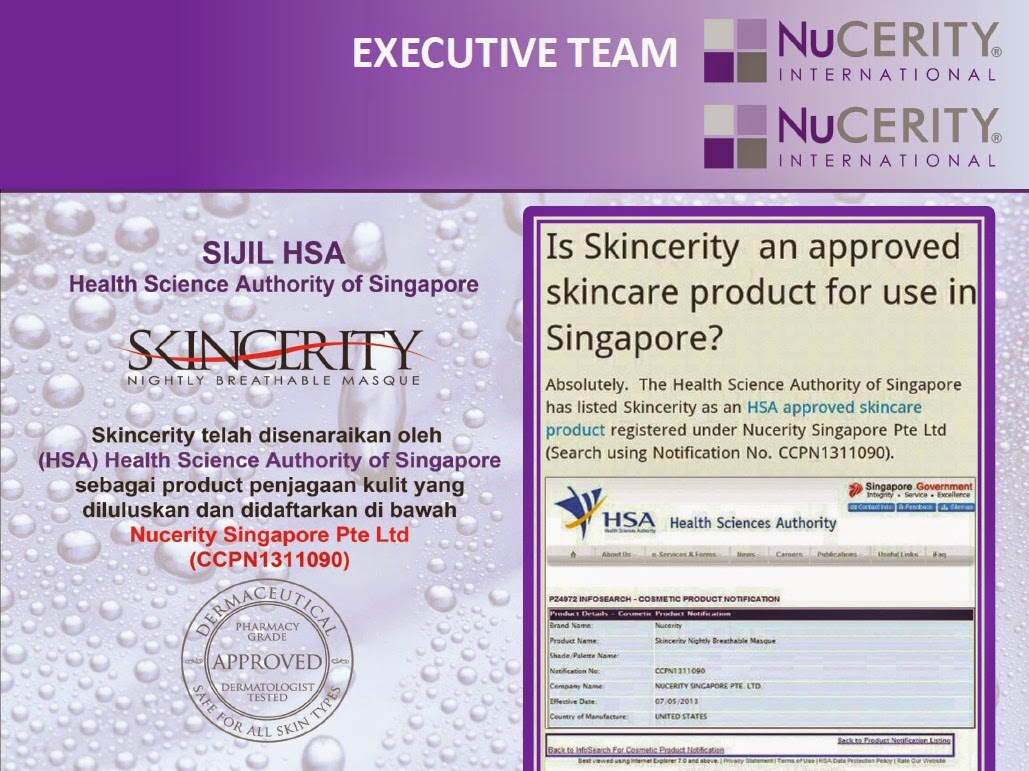 SIJIL HSA SINGAPORE