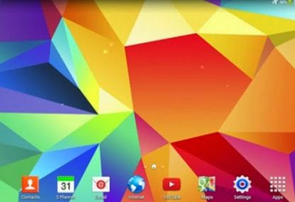 Samsung Galaxy S5's Original Live Wallpaper