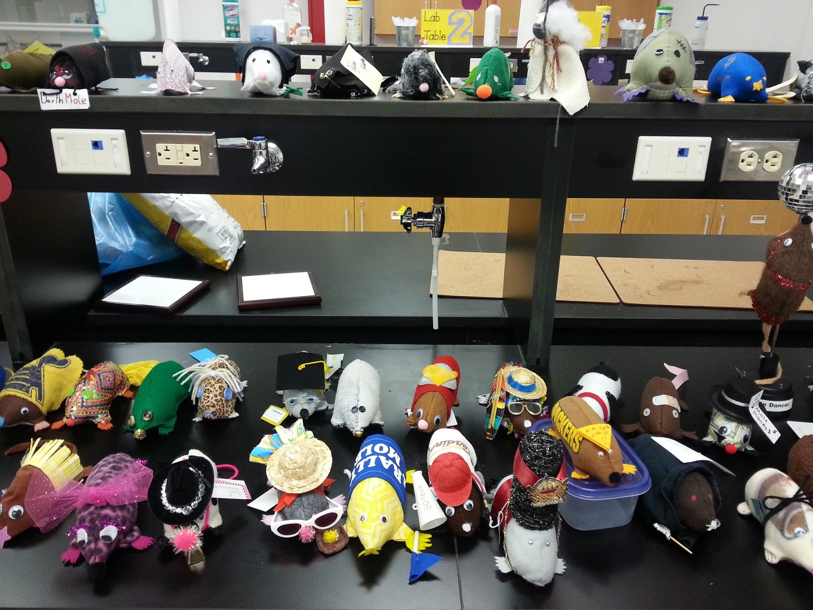 carbrey s chemistry blog mole day there was a mole poll stripper guacamoley sesamole street a party animole whack a mole and more i thought everyone did an awesome job at being