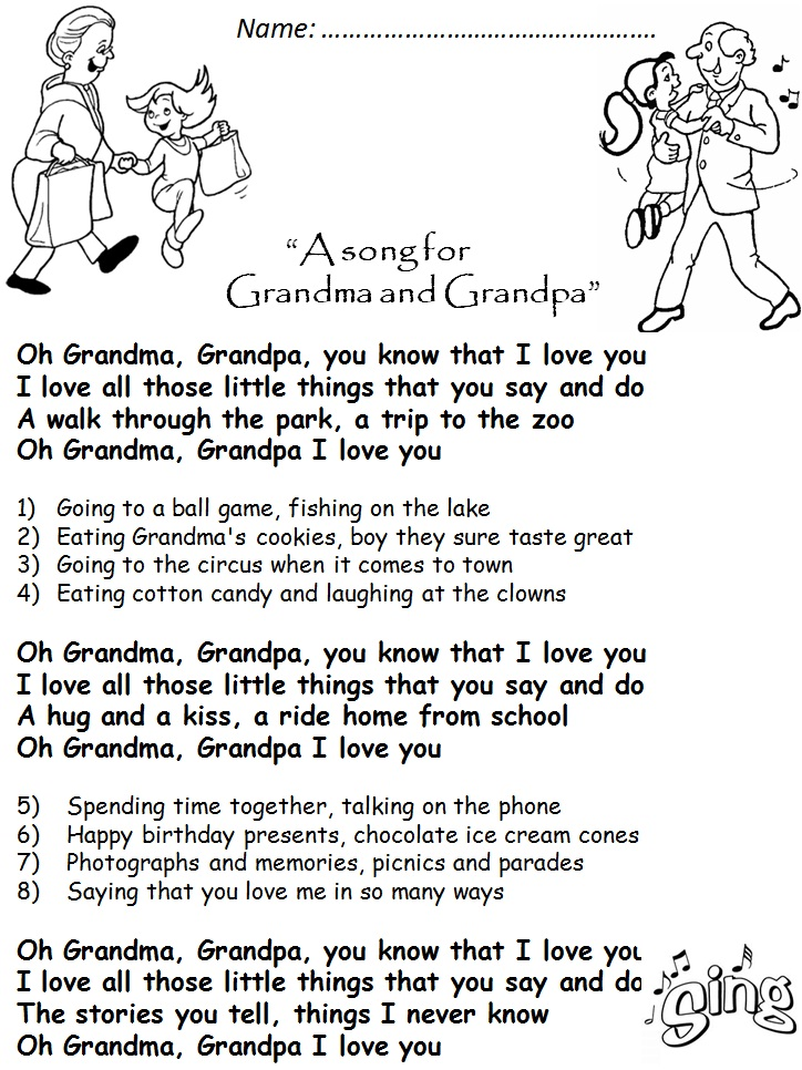 Back > Gallery For > I Love You Grandma Poems In Spanish