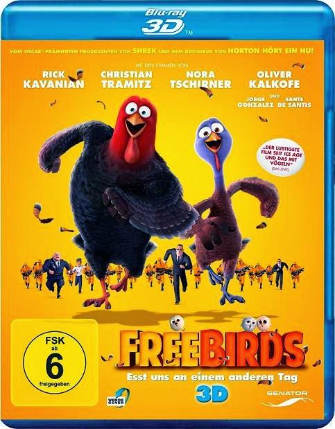 Free Birds (Dos Pavos en Apuros)(2013) 1080p 3D SBS 1.8GB mkv Dual Audio AC3 5.1 ch