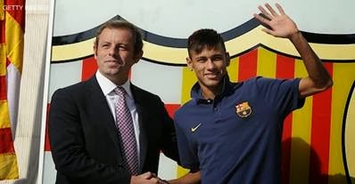 Neymar costó 95 millones al Barcelona