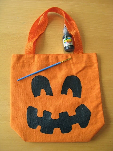 Jack O Lantern Trick or Treat Bag