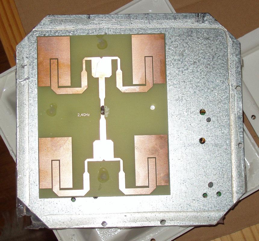 Панельные антенны своими руками 31