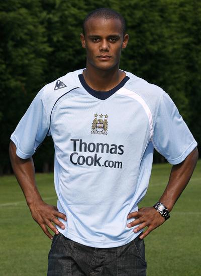 Vincent Kompany is Manchester City Captain 2011-2012