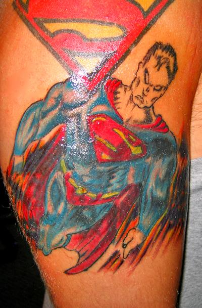 tattoos show tattoo superman tattoos. Black Bedroom Furniture Sets. Home Design Ideas