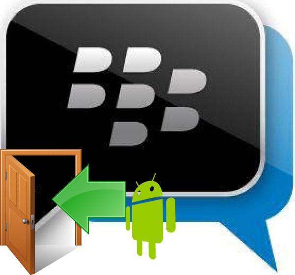 Sign Out dari BBM di Android