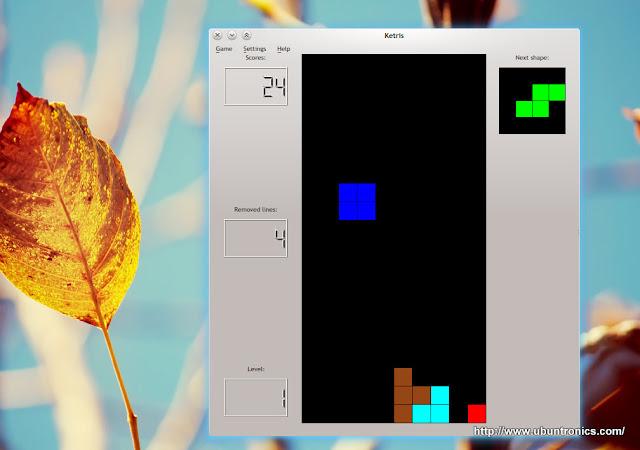 """""""Tetris for KDE"""""""